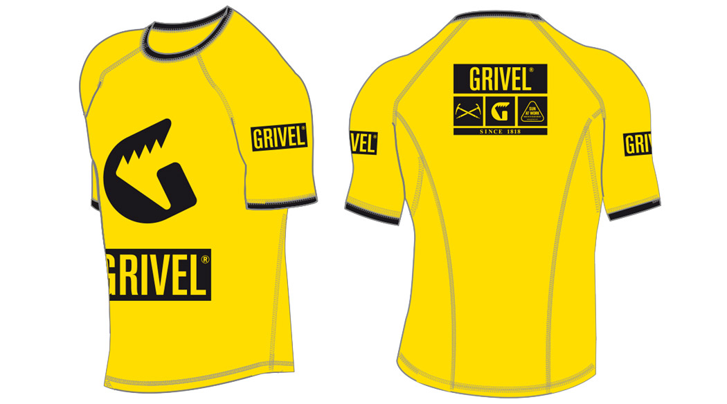 Technical T-Shirt yellow